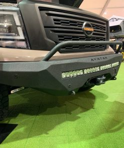 Nissan Titan front bumper from Avatar Metal Works
