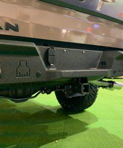 Nissan Titan rear bumper from Avatar Metal Works