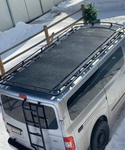 perforated decking roof rack