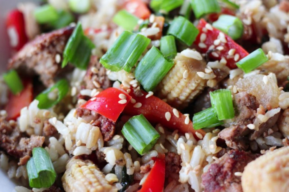 Ground Pork Stirfry
