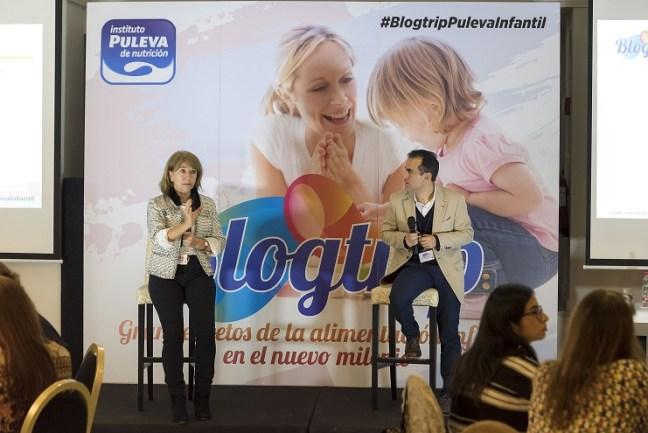 Blogtrip Puleva infantil 2019. La leche en embarazadas y niños