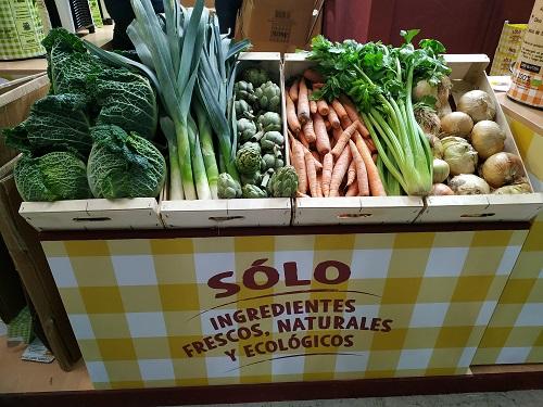 Verduras frescas de Aneto en BioCultura