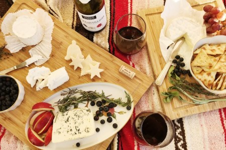 French Wine & Cheese for The Holidays!