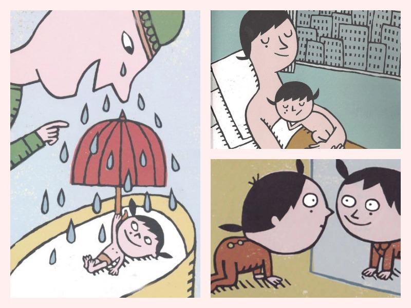 Livre La première fois que je suis née De Vincent Cuvellier Illustré par Charles Dutertre