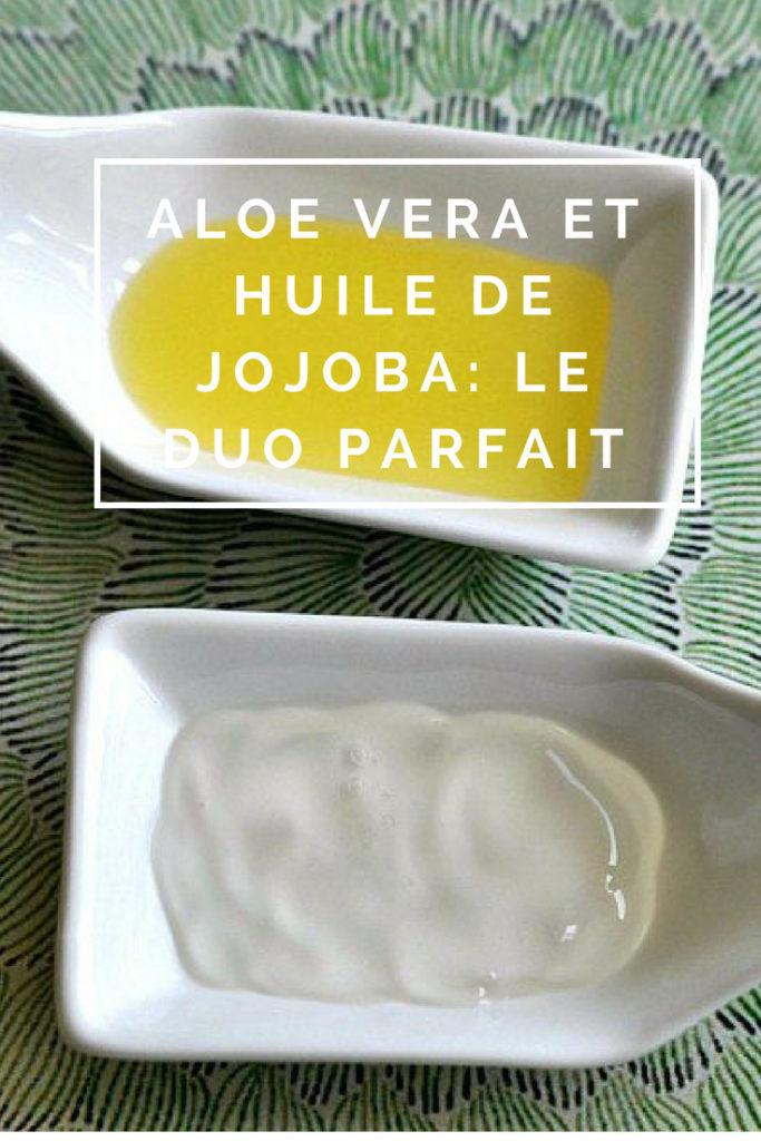 """Billet """"Huile de jojoba et Aloe Vera: le duo parfait"""" paru sur www.avecpanache.ch"""
