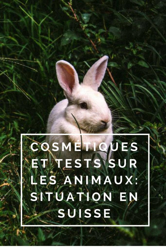 """Billet """"Cosmétiques et tests sur les animaux: situation en Suisse"""" paru sur www.avecpanache.ch"""