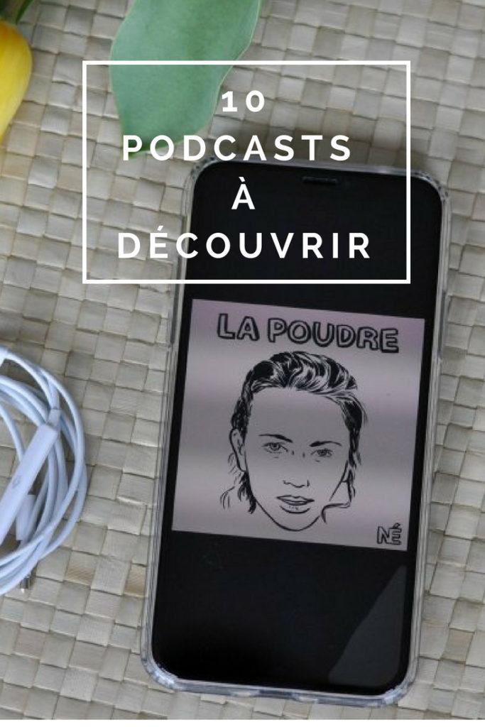 """Billet """"10 podcasts à découvrir"""" paru sur www.avecpanache.ch"""