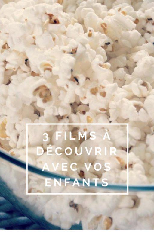 """Billet """"Films à découvrir avec vos enfants"""" paru sur www.avecpanache.ch"""
