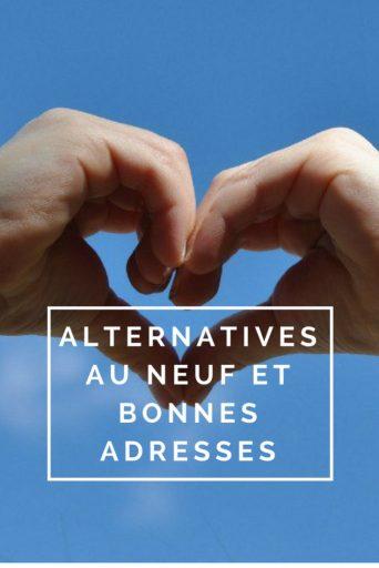 """Billet """"Alternatives à l'achat neuf et adresses"""" paru sur www.avecpanache.ch"""