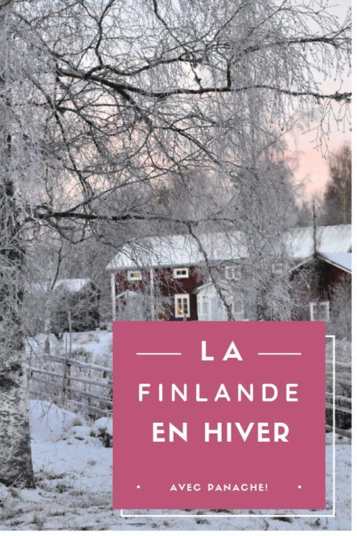 Découverte de la Finlande, en hiver, avec des adresses à Vaasa.