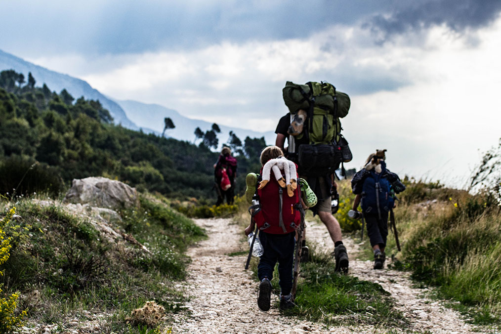 backpacking in kroatien