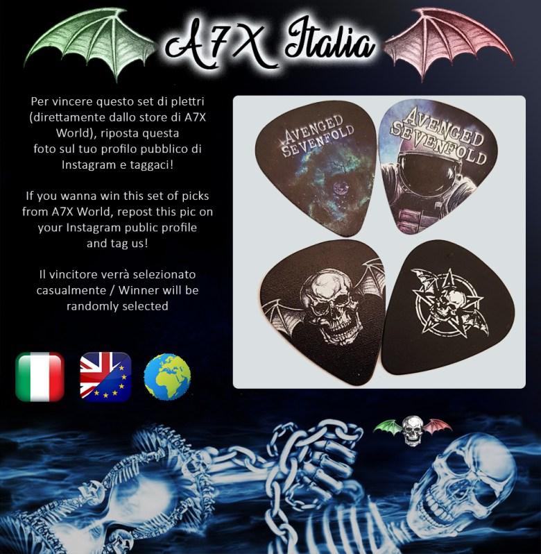 contest a7x italia 22 agosto