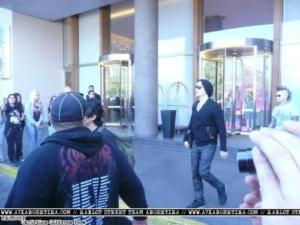 A7X and fans, Sud America 2012
