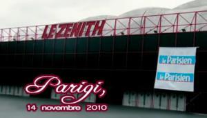 Fans in Tour: Parigi 14-11-2010