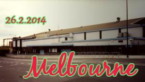 Fans in Tour: Melbourne 26-02-2014