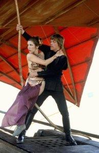 Luke and Leia - Jabba's Ship