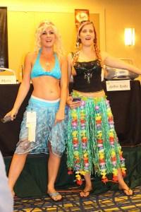 Authors Mari Mancusi and Diana Peterfreund at the DC YA Lit track © Sarah Brown 2014.