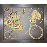 custom framing calgary 3d object antique gloves