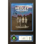custom framing calgary music concert ticket signed photo