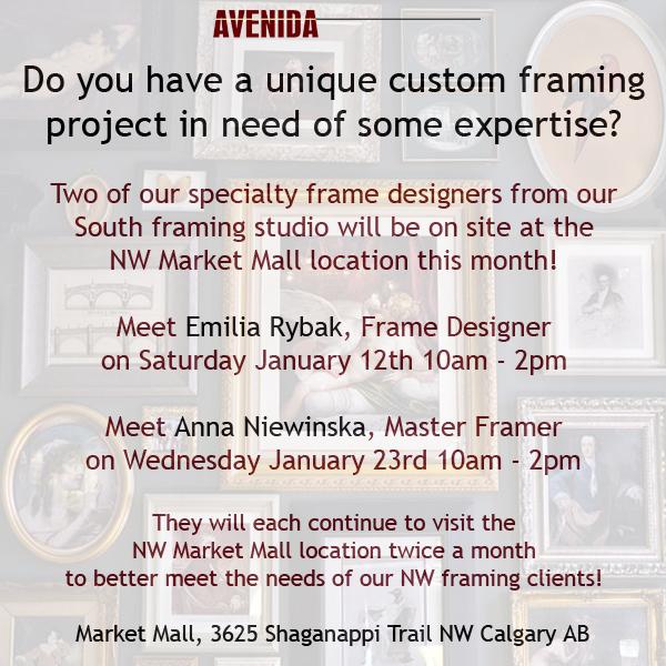 calgary custom framing