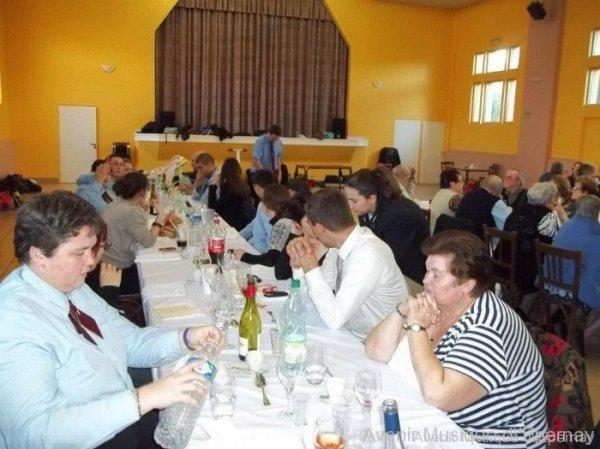 Repas de Sainte Cécile