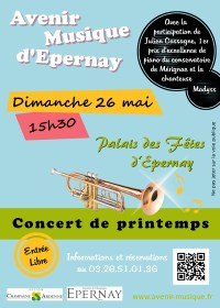 Concert de printemps - 26 mai 2013