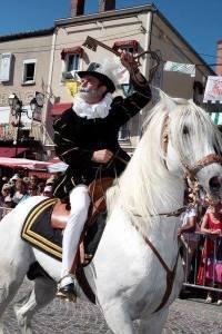 Henri IV sur son cheval blanc