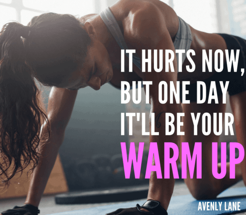 Top 10 Motivational Workout Quotes - Avenly Lane