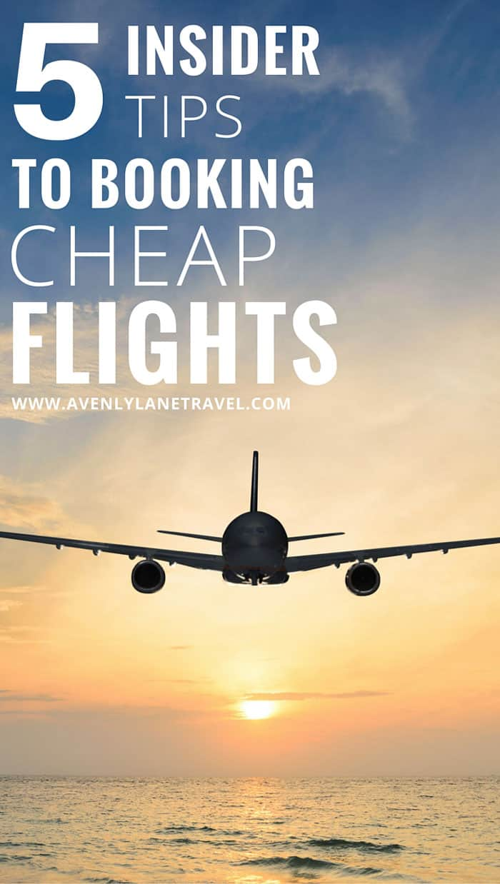 Are you looking to save money on flights? These 5 tips will save you HUNDREDS when booking your next trip! Click through to read how.