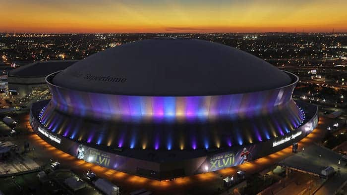 See a New Orleans Saints football game! Read our top 10 things to do in New Orleans!