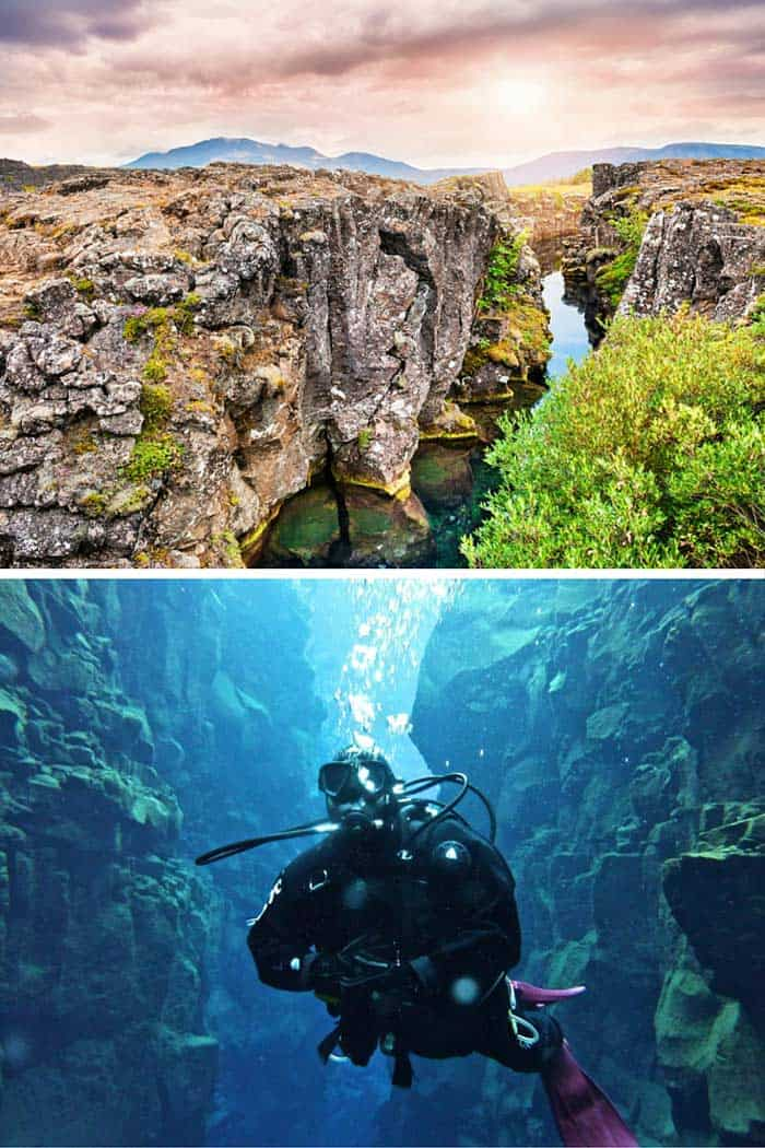 Snorkel in the Mid-Atlantic Ridge!! Read out top 10 things to do in Iceland!
