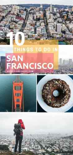 Top things to see in San Francisco!