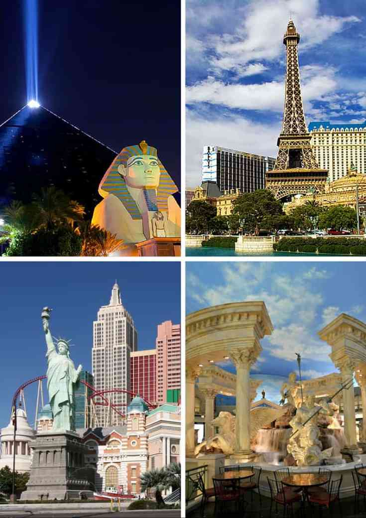 Visit Foreign Cities in Las Vegas! Click through to read the top 10 things to do in Las Vegas!