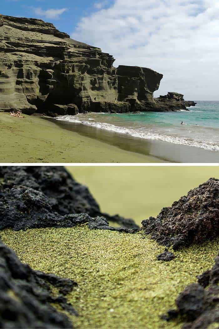 Papakolea Beach – Kaʻū, The Big Island