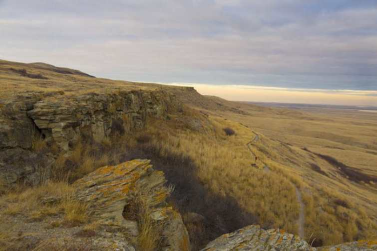 Head Smashed in Buffalo Jump, yes that is the real name of this place. Read the top 10 things to do in Alberta, Canada on AvenlyLaneTravel.com