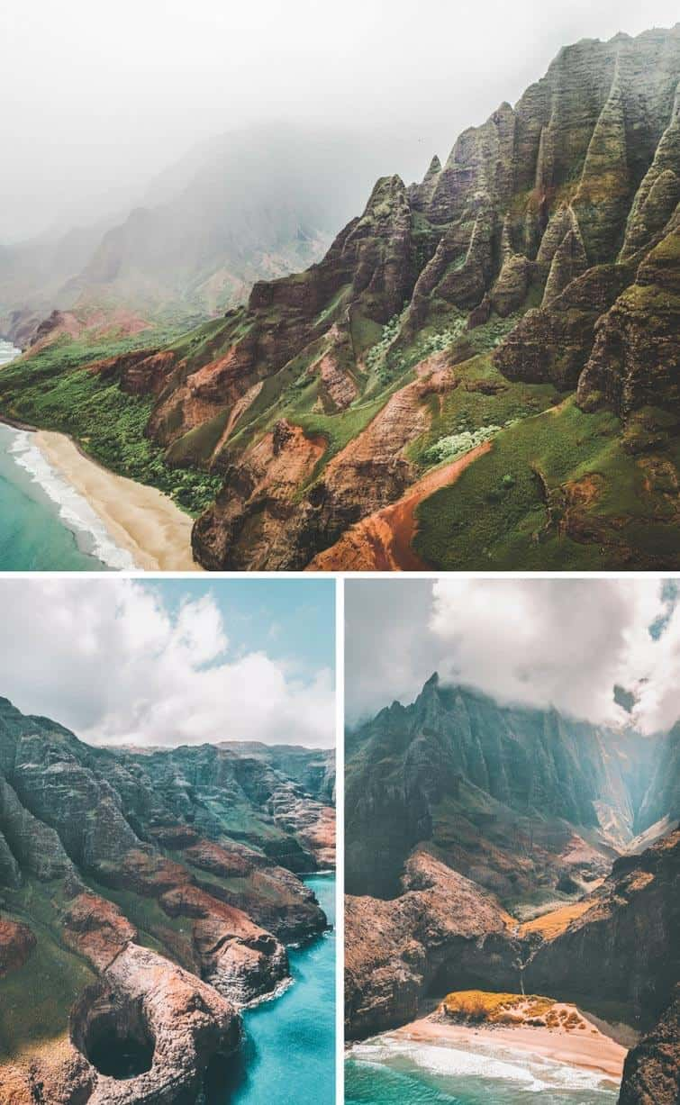 Na Pali Coast State Park, Kauai. Best places to visit in Hawaii!