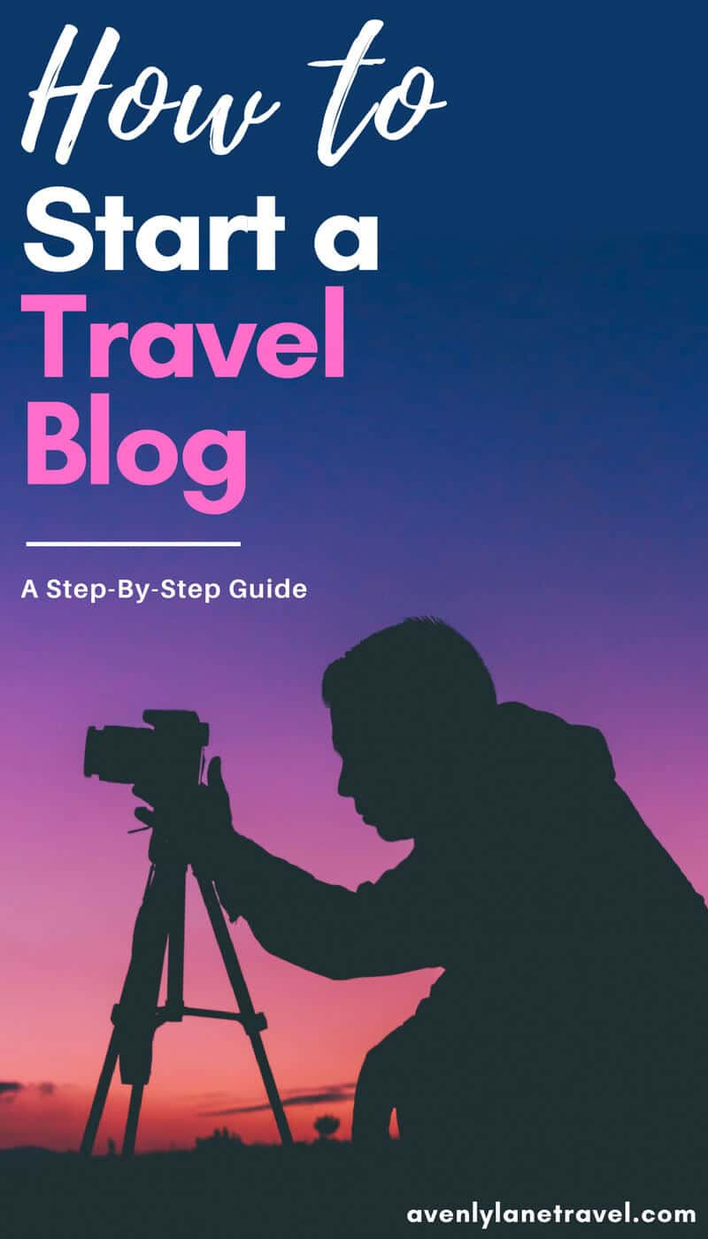 How to Create Your Own Travel Blog!  A step by step guide on how to start a travel blog.  #Blogging #startablog #travelblog