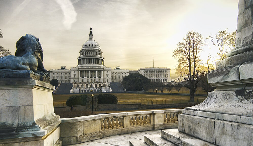 The Capitol Building in Washington, DC. See the top 10 things to do in Washington, DC!