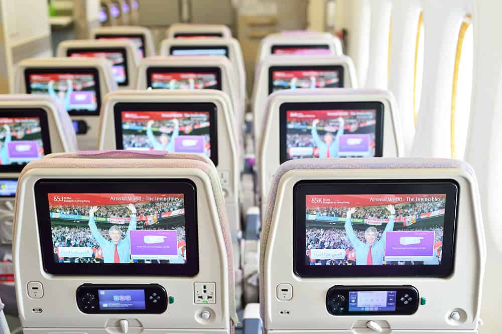 Flying with Emirates - The world's best airline