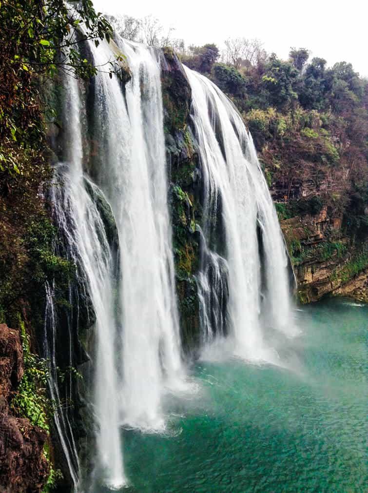 Huangguoshu Waterfall in China!