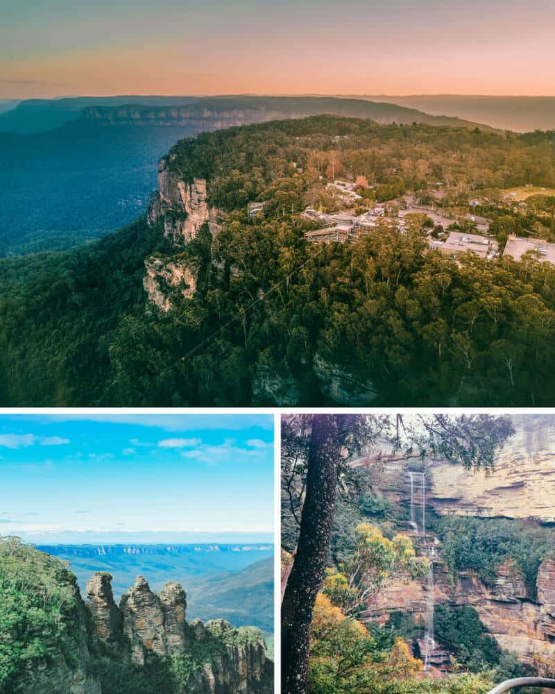 The 5 Most Beautiful Natural Wonders of Australia! The Blue Mountains.