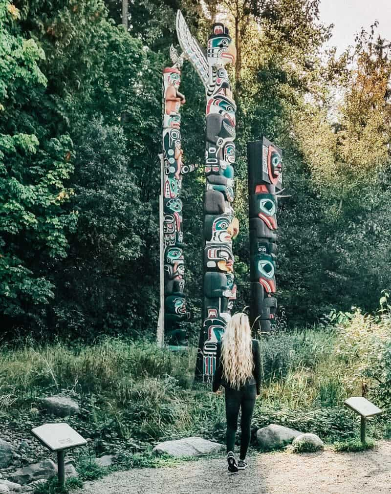 Stanley Park Totem Poles! See the best things to do in Stanley Park (Vancouver, BC)