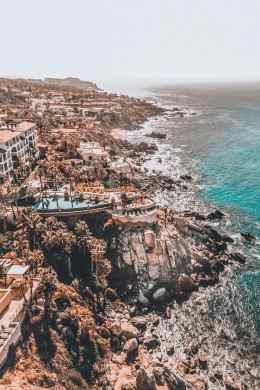 Cabo or Cancun  which is better    Avenly Lane Travel Amazing resorts on the rocky coastline of Cabo San Lucas
