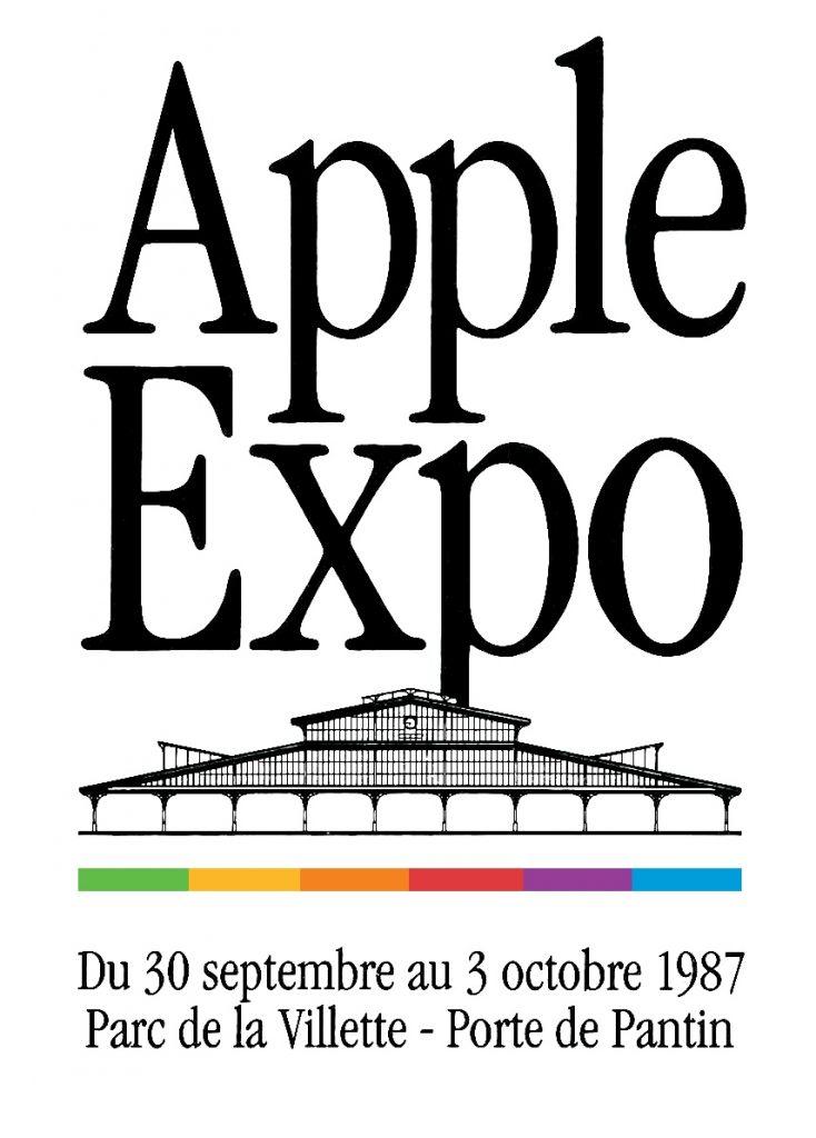 Le logo d'Apple Expo 1987