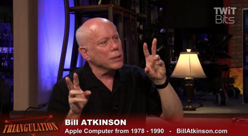 Bill Atkinson en 2017