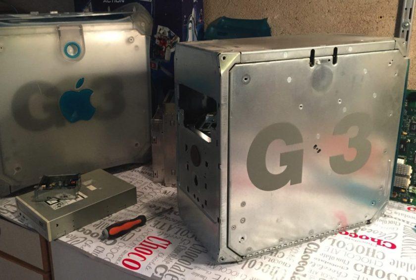 PowerMac G3 démoné