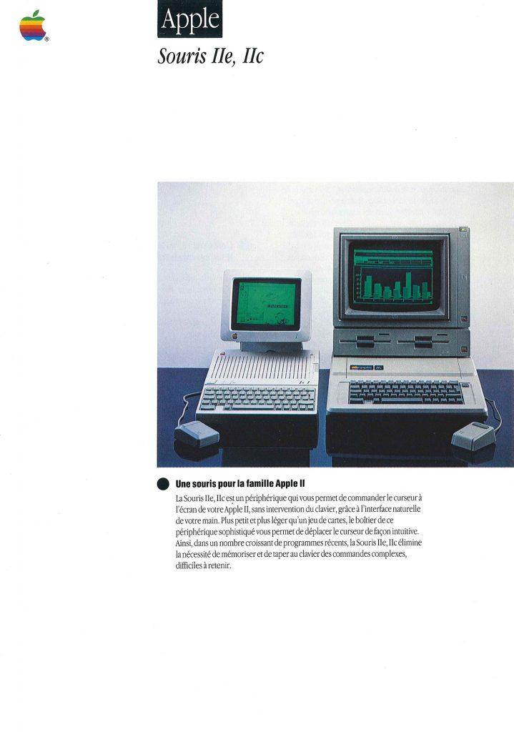 Apple IIe IIc mouse