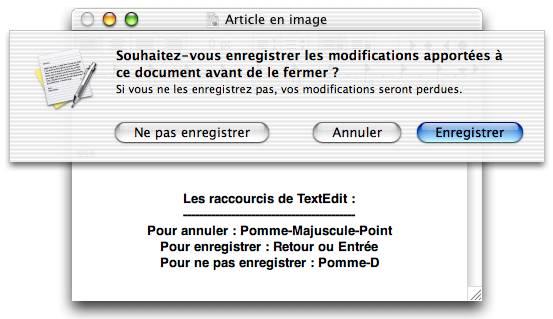 Save dialog in TextEdit, MacOS X 10.2 Jaguar