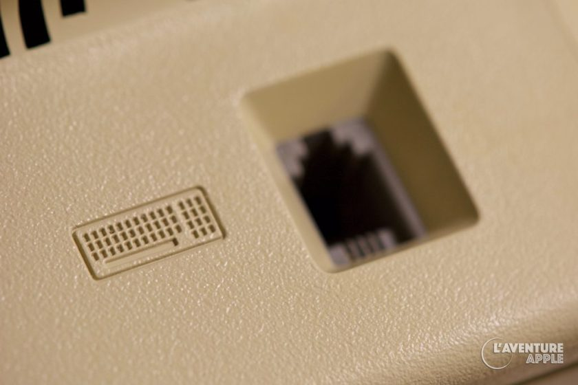 Apple Macintosh Plus Keyboard port