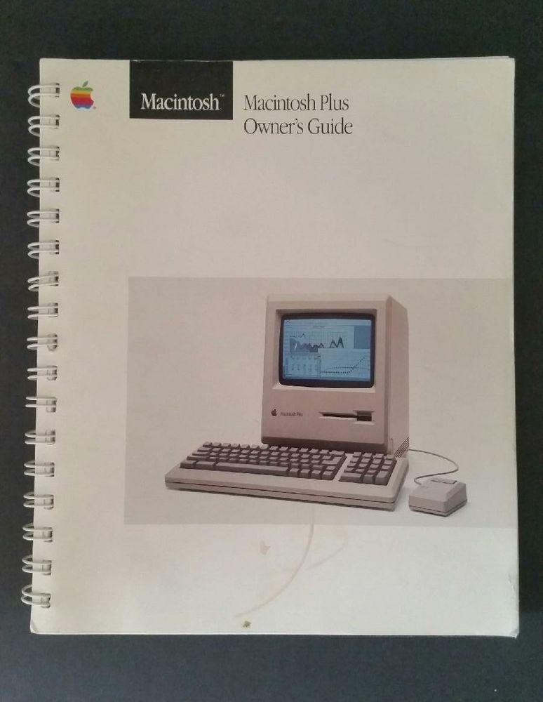Apple Macintosh Plus owner's guide